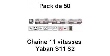 PACK 50 Chaines 11 vitesses YABAN S11 S2