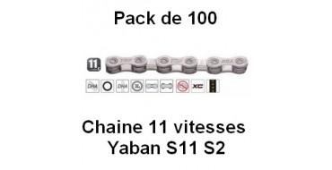 PACK 100 Chaines 11 vitesses YABAN S11 S2