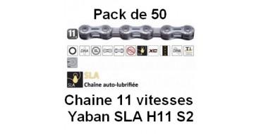 PACK 50 Chaines 11 vitesses Yaban SLA H11 S2