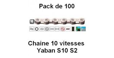 Pack 100 Chaines 10 vitesses Yaban S10 S2
