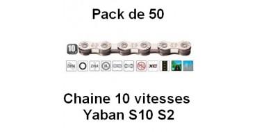 Pack 50 Chaines 10 vitesses Yaban S10 S2
