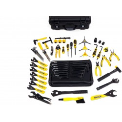 Malette outillage mécanicien vélo Professionnel PEDROS Master Tool Kit 3.1 - black case