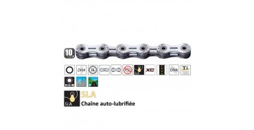 Chaine 10 vitesses Yaban SLA 101 S2