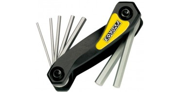 Muliti-outils hexagonaux PEDROS Folding Hex Set