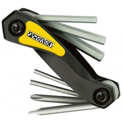 Multi-outils hexagonaux avec tournevs PEDROS Folding Hex Set with Screwdrivers