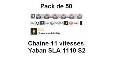 PACK 50 Chaines 11 vitesses YABAN SLA 1110 S2