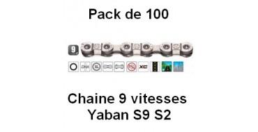 Pack 100 Chaines 9 vitesses Yaban S9 S2