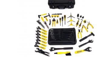 Malette outillage mécanicien vélo Professionnel PEDRO'S Master Tool Kit 3.1 - black case