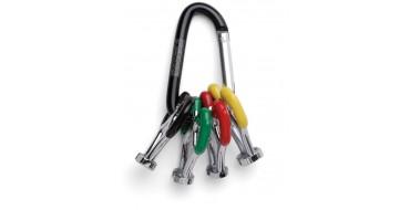 Kit de 4 clés à rayons professionnel PEDROS Pro Spoke Wrench - set of 4