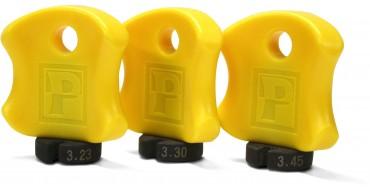 Kit de 3 clés à rayons professionnel PEDROS New Pro Spoke Wrench Set of 3