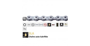 Chaine 11 vitesses Yaban SLA 110 S2